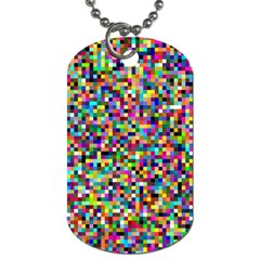 Color Dog Tag (one Sided)
