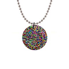 Color Button Necklace