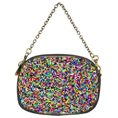 Color Chain Purse (two Sided)
