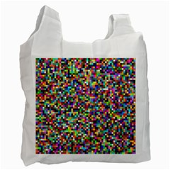 Color White Reusable Bag (Two Sides)