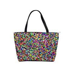 Color Large Shoulder Bag