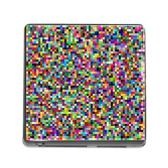 Color Memory Card Reader with Storage (Square)