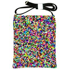 Color Shoulder Sling Bag