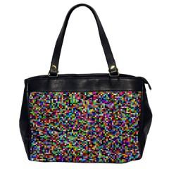 Color Oversize Office Handbag (one Side)