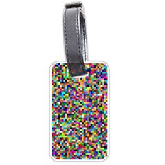 Color Luggage Tag (One Side)