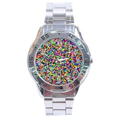 Color Stainless Steel Watch