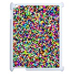 Color Apple iPad 2 Case (White) Front