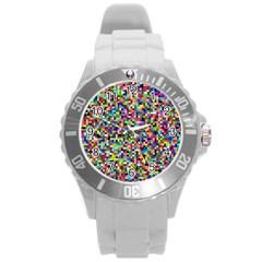 Color Plastic Sport Watch (Large)
