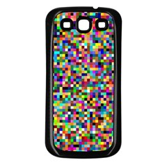 Color Samsung Galaxy S3 Back Case (Black)