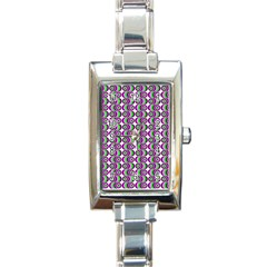 Retro Rectangular Italian Charm Watch