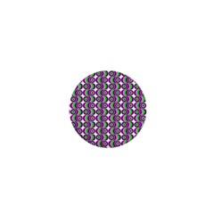 Retro 1  Mini Button