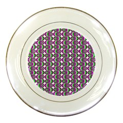 Retro Porcelain Display Plate