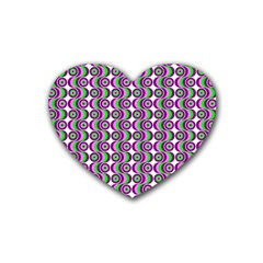 Retro Drink Coasters (Heart)