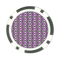 Retro Poker Chip (10 Pack)