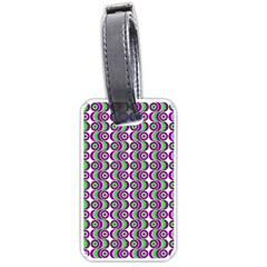 Retro Luggage Tag (One Side)