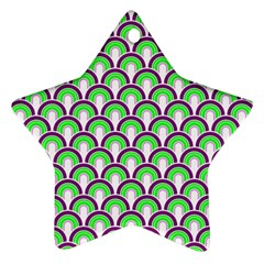 Retro Star Ornament
