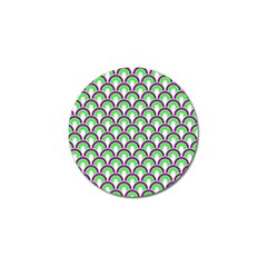 Retro Golf Ball Marker 10 Pack