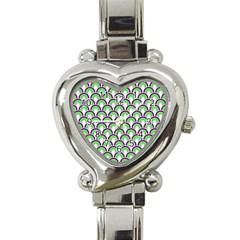 Retro Heart Italian Charm Watch
