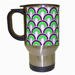 Retro Travel Mug (White)