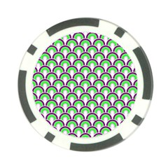 Retro Poker Chip (10 Pack)