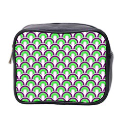 Retro Mini Travel Toiletry Bag (two Sides)