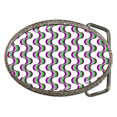 Retro Belt Buckle (Oval)