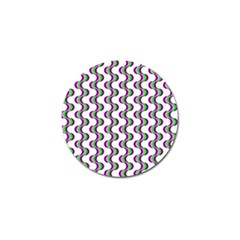 Retro Golf Ball Marker 4 Pack