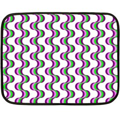 Retro Mini Fleece Blanket (Two Sided)