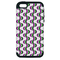Retro Apple Iphone 5 Hardshell Case (pc+silicone)