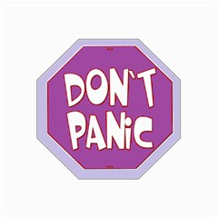 Purple Don t Panic Sign Canvas 16  x 20  (Unframed)