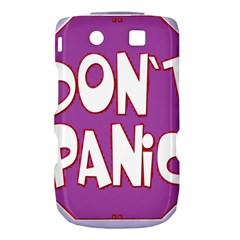 Purple Don t Panic Sign BlackBerry Torch 9800 9810 Hardshell Case