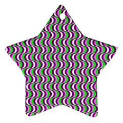 Pattern Star Ornament