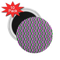 Pattern 2 25  Button Magnet (10 Pack)