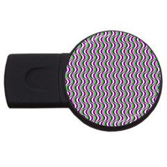 Pattern 2GB USB Flash Drive (Round)