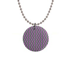 Pattern Button Necklace
