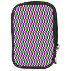 Pattern Compact Camera Leather Case