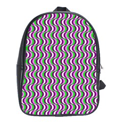 Pattern School Bag (XL)