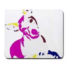 Untitled 3 Colour Large Mouse Pad (Rectangle)