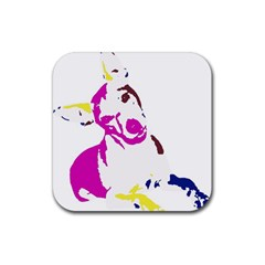 Untitled 3 Colour Drink Coasters 4 Pack (Square)