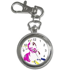 Untitled 3 Colour Key Chain Watch