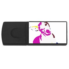 Untitled 3 Colour 2GB USB Flash Drive (Rectangle)