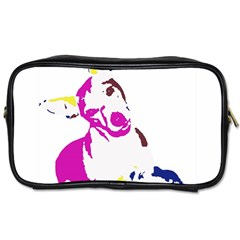 Untitled 3 Colour Travel Toiletry Bag (one Side)