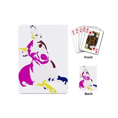Untitled 3 Colour Playing Cards (Mini)