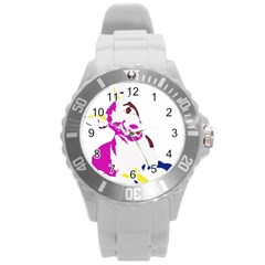 Untitled 3 Colour Plastic Sport Watch (Large)