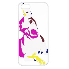 Untitled 3 Colour Apple Iphone 5 Seamless Case (white)