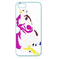 Untitled 3 Colour Apple Seamless Iphone 5 Case (color)