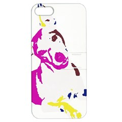 Untitled 3 Colour Apple iPhone 5 Hardshell Case with Stand