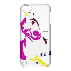 Untitled 3 Colour Apple iPod Touch 5 Hardshell Case with Stand