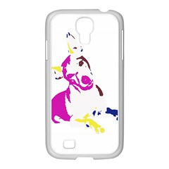 Untitled 3 Colour Samsung GALAXY S4 I9500/ I9505 Case (White)