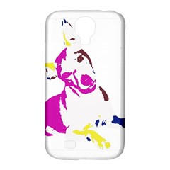 Untitled 3 Colour Samsung Galaxy S4 Classic Hardshell Case (PC+Silicone)